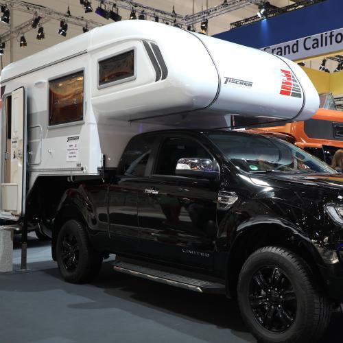 Ford Ranger Tischer | Nos photos du pick-up de camping au Caravan Salon 2019