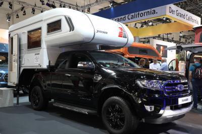 Ford Ranger Tischer   Nos photos du pick-up de camping au Caravan Salon 2019