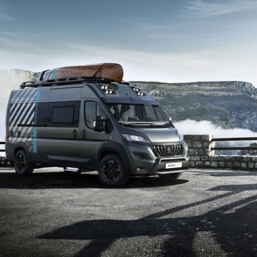 Peugeot Boxer 4x4 | les photos officielles du fourgon aménagé