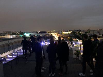 Soirée Cupra sur un rooftop parisien | nos photos