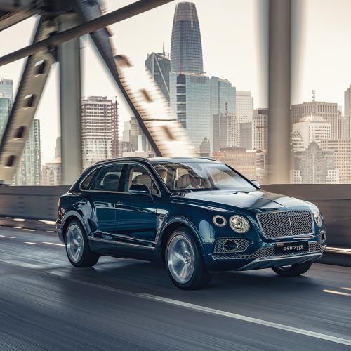Bentley Bentayga Hybrid   Les photos du SUV de luxe en version plug-in hybrid