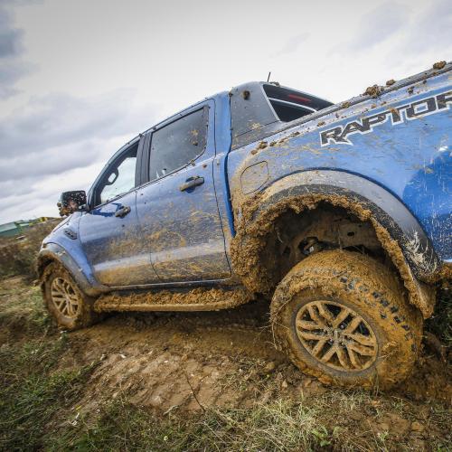 Ford Ranger Raptor | les photos de notre passage en pick-up dans la boue