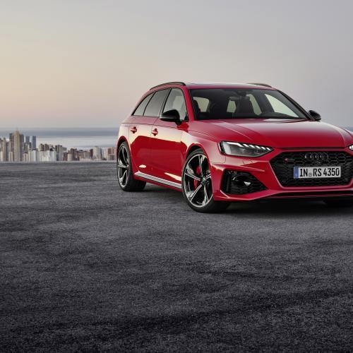 Audi RS4 Avant restylée | Les photos officielles du break sportifs