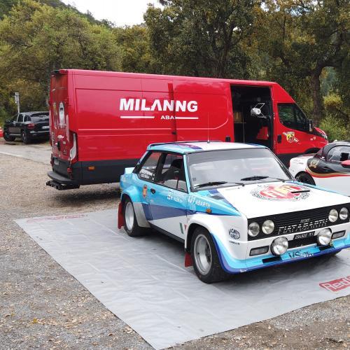 Abarth 124 GT | les photos du road trip en Provence