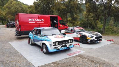Abarth 124 GT | les photos du road trip en Provence