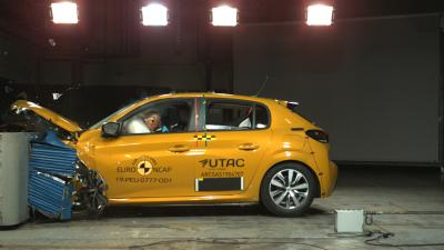 Peugeot 208 II | Les photos Euro NCAP des crash-tests