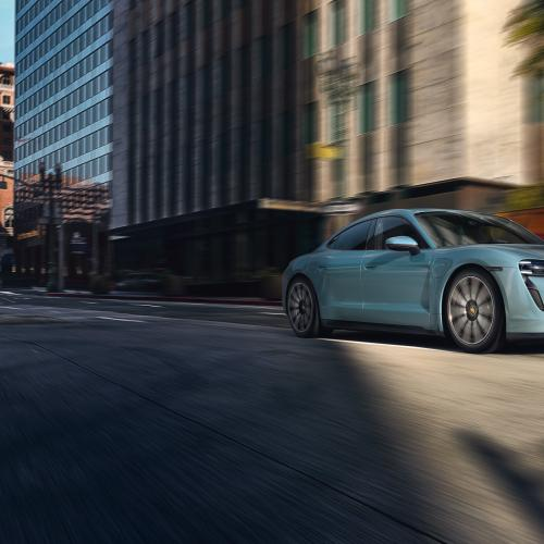 Porsche Taycan 4S | les photos officielles de la berline coupé 4 portes