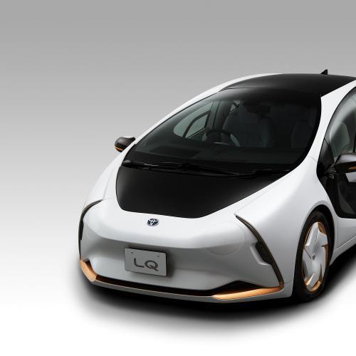 Toyota LQ | les photos officielles du concept électrique et autonome