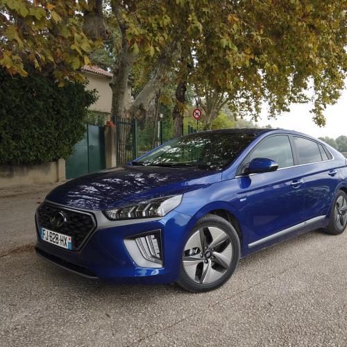 Hyundai Ioniq Hybrid   nos photos de l'essai du restylage