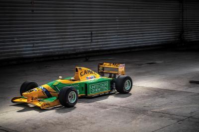 Formule 1 | la Benetton 1992 de Schumacher aux enchères