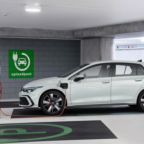Golf 8 GTE | les photos officielles de la version hybride rechargeable