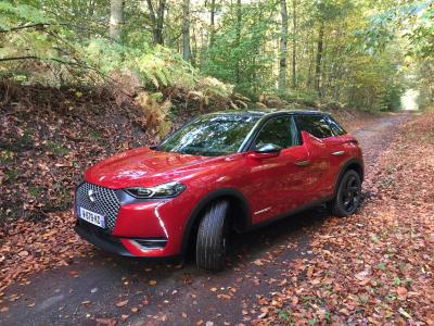 DS3 Crossback E-Tense | Nos photos du petit SUV électrique en finition Performance Line +