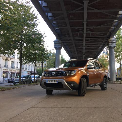 Dacia Duster 4x4 Prestige TCe 150 FAP | Nos photos en milieu urbain