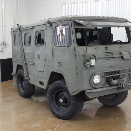 Volvo L3314 Laplander Camper | les photos du camping-car en mode militaire