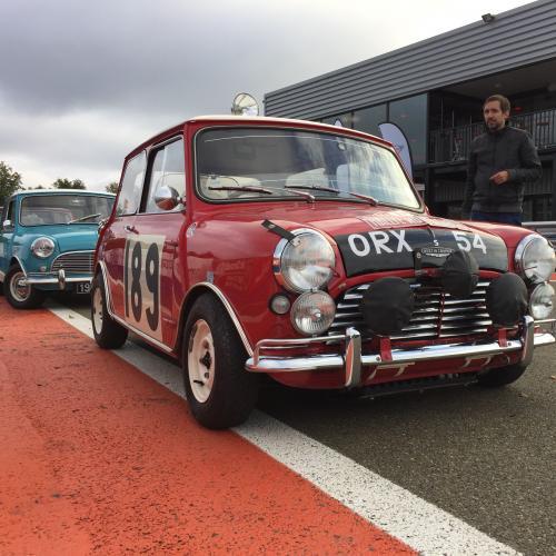 60 ans de Mini | Nos photos des Mini classic au circuit de Dreux