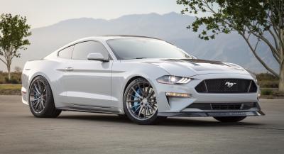 Ford Mustang Lithium | Les photos officielles du dragster électrique