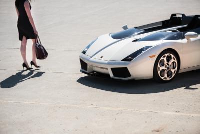 Lamborghini Concept S | Les photos officielles du spyder unique à vendre aux enchères