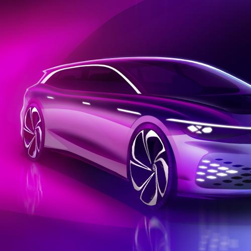 Volkswagen ID Space Vizzion | les photos officielles du concept
