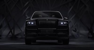 Rolls-Royce Cullinan Black Badge | Les photos de la série spéciale full-black du SUV de luxe