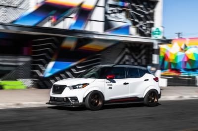 Nissan Kicks Street Sport | Les photos du crossover présenté au SEMA Show