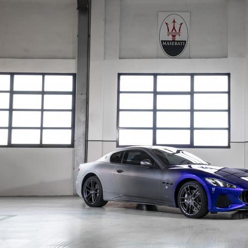 Maserati GranTurismo Zéda | Les photos du modèle unique pour la fin de la production de la GT