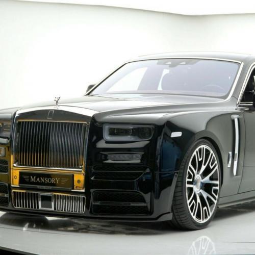 Rolls-Royce Phantom VIII par Mansory | Les photos de la limousine en vente sur le site officiel