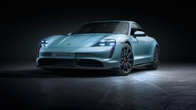 Porsche au Salon de Los Angeles 2019 | Les photos officielles des Taycan 4S, Macan Turbo et 99X Electric