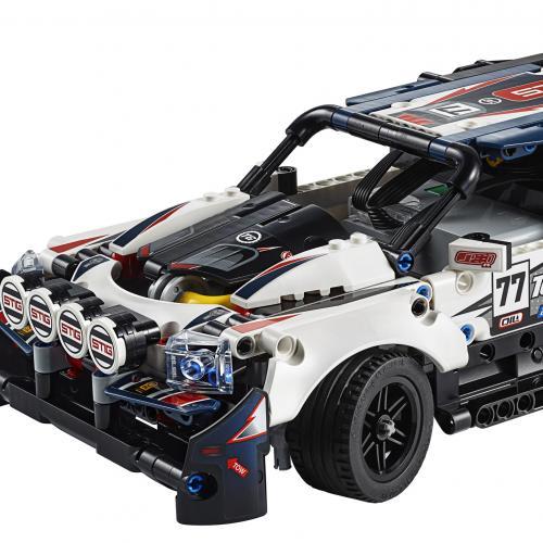 Lego Technic Top Gear Rally Car | Les photos officielles du jouet préféré du Stig