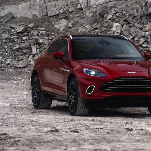 Aston Martin DBX   les photos officielles du 1er SUV de James Bond