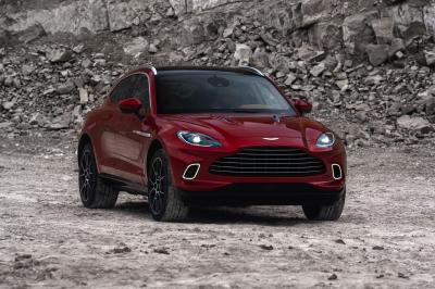 Aston Martin DBX | les photos officielles du 1er SUV de James Bond