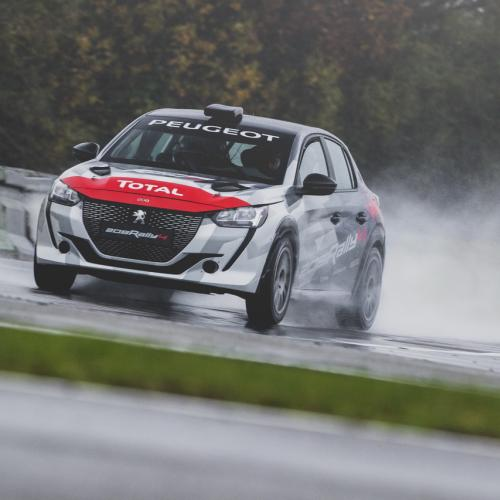 Peugeot 208 Rally 4 : les photos officielles