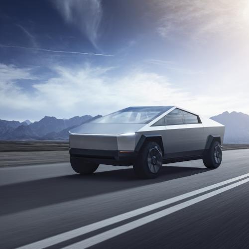 Tesla Cybertruck   Les photos du pick-up futuriste