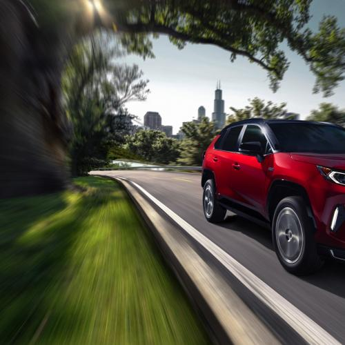 Toyota RAV4 Prime | les photos officielles de la version hybride rechargeable