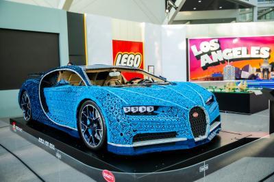 Bugatti | les photos de son stand au LA Auto Show 2019