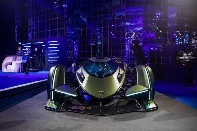 Lamborghini Lambo V12 Vision Gran Turismo | Les photos du concept-car dédié au jeu vidéo