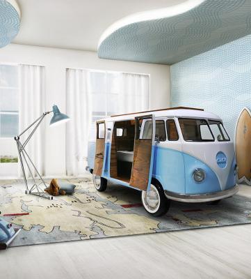 Bus Van Circu | Les photos du lit camping-car pour enfant