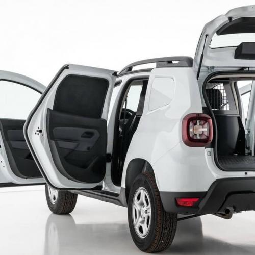 Dacia Duster Fiskal | les photos officielles de la version utilitaire du SUV