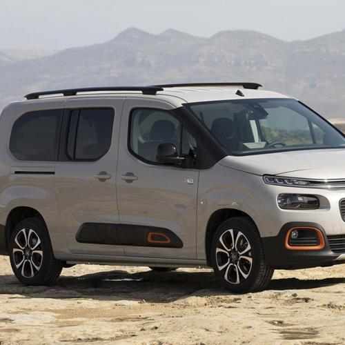 Citroën Berlingo Tinkervan : toutes les photos du van aux chevrons
