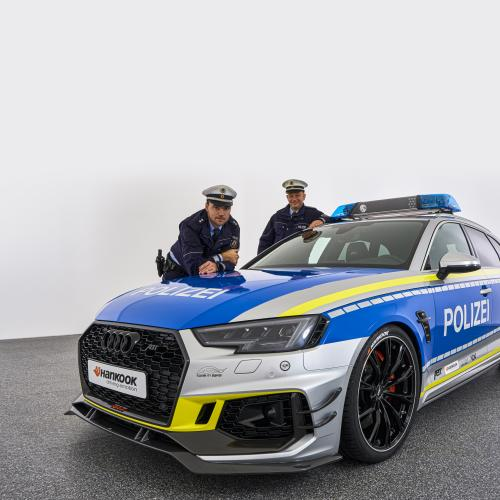 ABT Audi RS4-R Polizei | Les photos du break sportif d'intervention