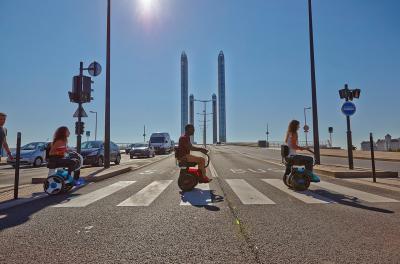 Nino4 by Nino Robotics | Les photos du transporteur personnel assis financé par Renault
