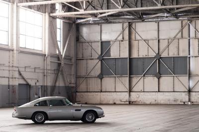 Mourir peut attendre   James Bond de retour au volant de l'Aston Martin DB5