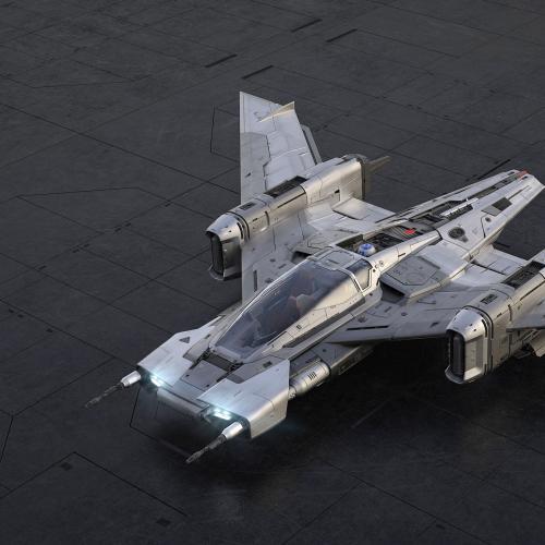 Tri-Wing S-91x Pegasus Starfighter | Les photos du vaisseau spatial signé Porsche et Lucasfilm
