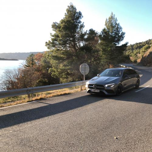 Essai Mercedes CLA Shooting Break : toutes nos photos