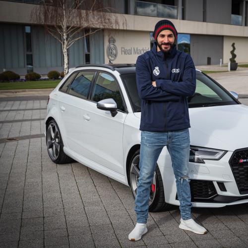 Audi   les joueurs du Real Madrid ont reçu leur nouveau bolide