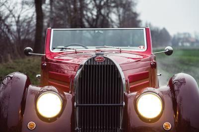 Bugatti Type 57C Stelvio par Gangloff | Les photos officielles du roadster proposé aux enchères par RM Sotheby's