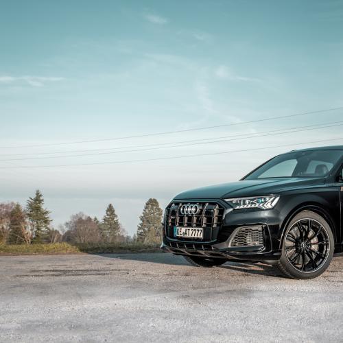 Audi SQ7 TDI par ABT Sportsline   Les photos officielles du gros SUV allemand préparé
