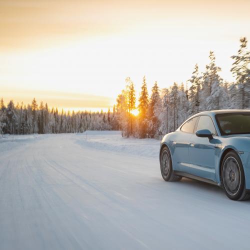 Porsche Taycan 4S | Les photos de la berline 100% électrique en Finlande