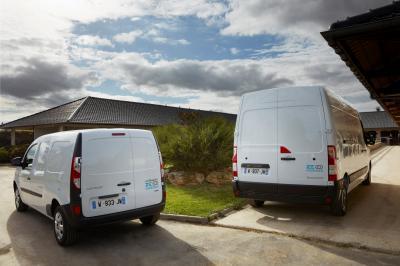 Renault Kangoo Z.E. Hydrogen et Master Z.E. Hydrogen | Les photos des utilitaires à hydrogène