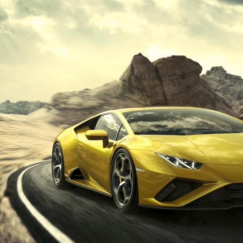 Lamborghini Huracan EVO RWD | Les photos officielles de la sportive italienne en mode propulsion