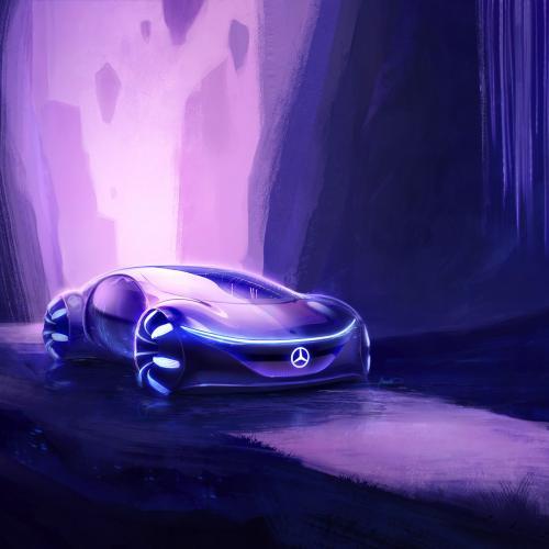 Mercedes Vision AVTR | les photos officielles du concept
